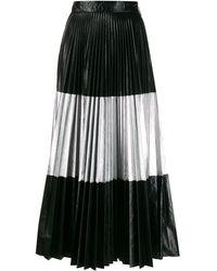 Christopher Kane プリーツスカート - ブラック