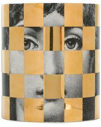 Fornasetti Face Print Candle - Multicolour