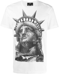 7194aeb1 Off-White c/o Virgil Abloh Statue Of Liberty T-shirt in White for ...