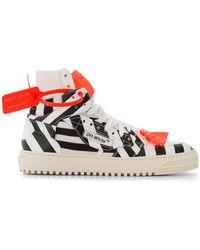 0de3bcd79a0dc4 Women's Off-White c/o Virgil Abloh High-top sneakers On Sale - Lyst
