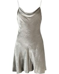 Alice + Olivia Carmelina ドレス - グレー