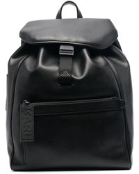 Karl Lagerfeld K/karl レザーバックパック - ブラック