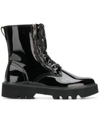 Calvin Klein Military Boots - Black
