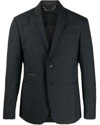Philipp Plein Single-breasted Blazer - Grey