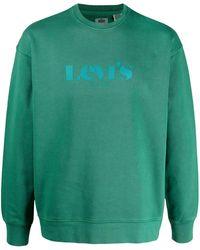 Levi's グラフィック スウェットシャツ - グリーン