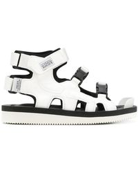 449d9f1cc27 Lyst - Suicoke Chin2 Sandals in White