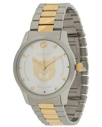 1413a334588 Gucci Ya138403 G-timeless Medium Rectangle Watch - For Men in ...