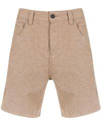 Osklen 5 Pockets Shorts - ナチュラル