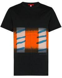 Eckhaus Latta プリント Tシャツ - ブラック