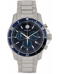 Movado Series 800 Armbanduhr 42mm - Blau