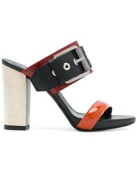 Barbara Bui - Buckled Open-toe Sandals - Lyst