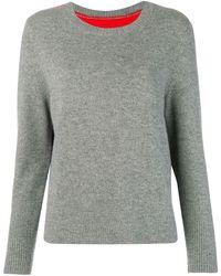 Chinti & Parker - コントラストパネル セーター - Lyst
