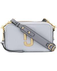 Marc Jacobs The Softshot 21 Crossbody Bag - Gray
