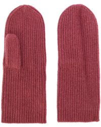 Isabel Marant - Ribbed Mittens - Lyst