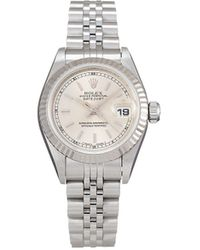 Rolex 1997 Pre-owned Lady-datejust 26mm - Metallic