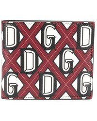Dolce & Gabbana Бумажник С Логотипом Dg - Красный