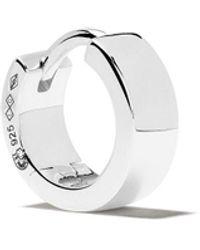 Le Gramme 9/10g Ribbon Earring - Metallic