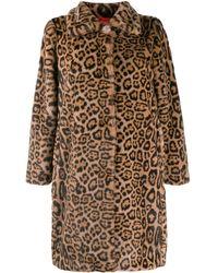 Bellerose Mantel mit Leoparden-Print - Braun