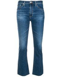 AG Jeans スリム クロップドジーンズ - ブルー