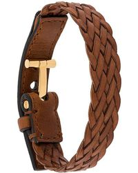 Tom Ford Woven Bracelet - Bruin