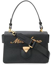Moschino - Embossed Logo Handbag - Lyst