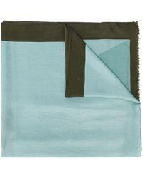 Altea バイカラー スカーフ - ブルー