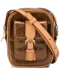Louis Vuitton Christie Pm Cross Body Bag - Brown