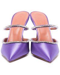 AMINA MUADDI Туфли Gilda 95 - Пурпурный