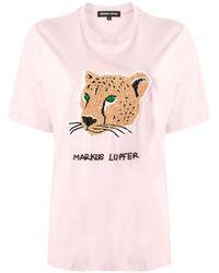 Markus Lupfer - レオパード Tシャツ - Lyst