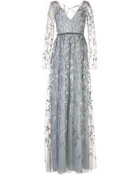 Marchesa notte - Платье С Вышивкой - Lyst