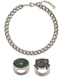 DSquared² Chain Link Necklace - Metallic
