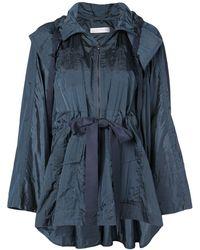 Palmer//Harding Belted Raincoat - Blue
