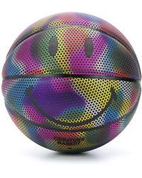 Chinatown Market Rainbow Basket Ball - Black