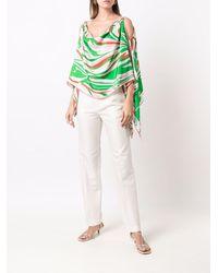 Emilio Pucci スリムフィット テーラードパンツ - ホワイト