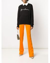 Versace Джемпер Gianni - Черный