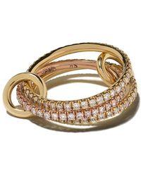 Spinelli Kilcollin Aurora ダイヤモンド リング 18kゴールド - メタリック