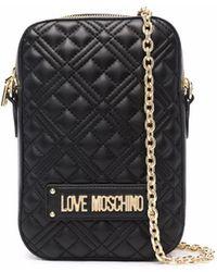 Love Moschino - キルティング ショルダーバッグ - Lyst