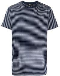 A.P.C. - ストライプ Tシャツ - Lyst