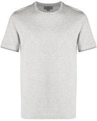 Canali コットン Tシャツ - グレー