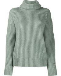 Calvin Klein タートルネック セーター - グリーン