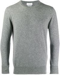 Ballantyne Jersey con cuello redondo - Gris