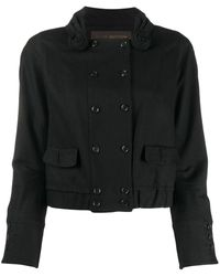 Louis Vuitton Pre-owned Straight-fit Double-breasted Jacket - Black