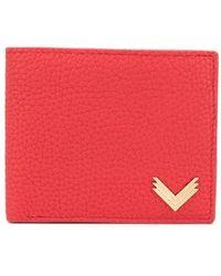 Manokhi 二つ折り財布 - レッド