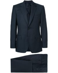 Gieves & Hawkes ツーピース スーツ - ブルー