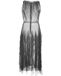 Jason Wu - ラッフル ポルカドット ドレス - Lyst