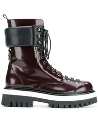 MSGM - Lace-up Boots - Lyst