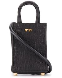 N°21 レザートートバッグ - ブラック