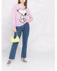 Chinti & Parker Snoopy カシミア セーター - パープル