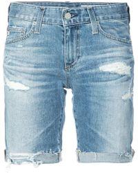 e5a4288e3f9 Lyst - Women s AG Jeans Shorts Online Sale