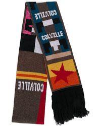 Colville ロゴ スカーフ - マルチカラー